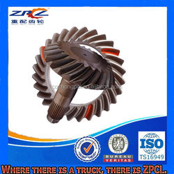 China ISO/TS16949 Certified Differential Steel Crown Pinion With Ratio 21/28 For Various Trucks And Autos