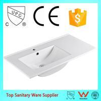 made in china single sink bathroom vanity tops
