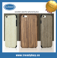 2015 Rock natural wood case for iphone 6s plus carved wood case for iphone6s plus