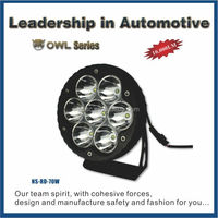 NSSC new products car accessories alibaba china IP68 10W 20W 30W 40W 50W 70W cree cob led driving work light