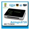 Amlogic 8726 -M3 Android 4.0 .4 android dvb-t tuner tv box