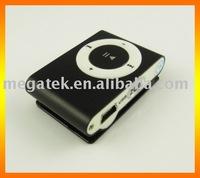 Digital mini FM radio mp3 player with Clip