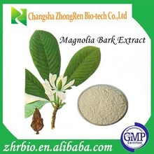 GMP Certification Pure natural Magnolia Bark Extract Powder 95%