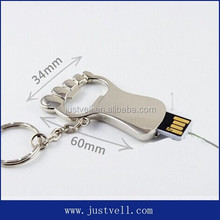 novel memory stick free logo metal mini pormo usb pen drivers customize usb bottle opener memory stick