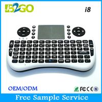 Hot RII Mini i8 Fly Air Mouse mini wireless keyboard for sharp smart tv