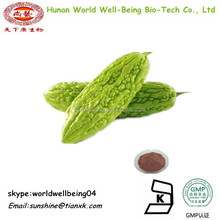 Dried Bitter Gourd Fruit Extract Powder /Natural Momordica Charantia P.E. /Organic Bitter Melon Powder