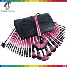 Professional makeup brush rose color makeup brush set 32 piece