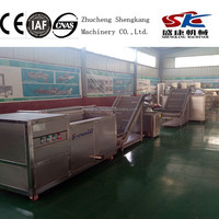 SKLD potato chips small scale Electric heating Frying equipment /Machine /manufacturing company