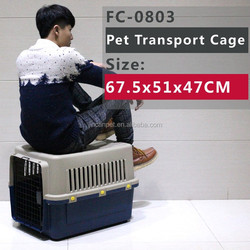 pet fight travel cage kennel FC-0803 67.5x51x47 CM Dog Flight Carrier
