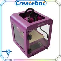 Christmas gift 3d printer price hot sale super mini printer 3d manufacturer createbot brand desktop 3d scanner for 3d printer