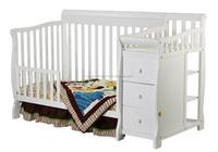 White Convertible Crib