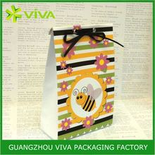 Luxury high quality art paper gift bag printing company