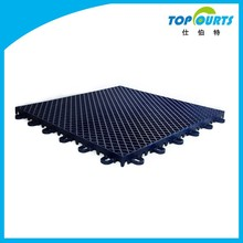 Non-slip plastic synthetic tennis court flooring
