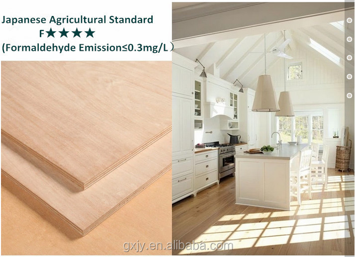 e1 formaldehyde emission standards and plywoods type