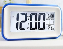 wake up light alarm clock, night stand clock backlit clock
