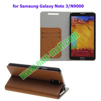 Leather Flip Case for Samsung Galaxy Note 3 N9000