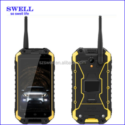 useful IP68 rugged mobile phone 2015 android 4.4 walkie talkie X8