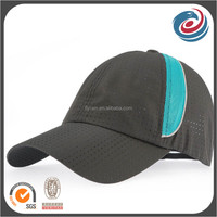 custom designed blank breathable polyester sports hat