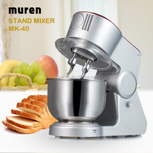 600W stand mixer & kneading machine with double dough hooks