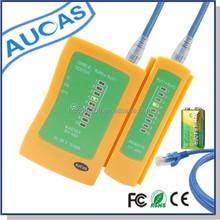 AUCAS brand RJ45+RJ11 pass fluke network lan cable tester prices for networking