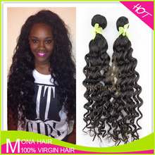 Good feedbacks high quality Indain hair weaves