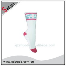 Swodart womens pink very cheap cotton socks suitable for promotion and gift custom with own logo