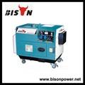 ahorrar combustible silencioso motor diesel generador portátil