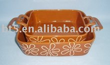 rectangle hot sale new design bakeware with ears