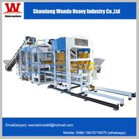 Good quality! WDQT10-15 hydraulic pressure concrete block making machine/brick maing machine