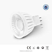 Color Box Packaged Good Radiating 7W Spotlight MR16 LED Bulb ul