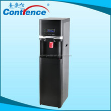 permanent water filter dispenser with refrigerator as office machine