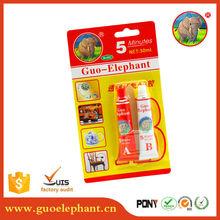 guoelephant 90 minutes standard epoxy ab glue