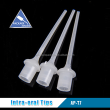 AP-T7 Clear Oral Tip Dental Disposable Tip for Dental Curing Cements