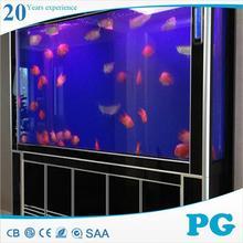Pg diseño moderno acuario decoración de bambú