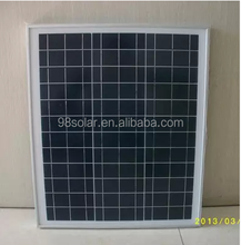 A-grade cell pv panel high efficiency 40W poly home solar panel