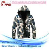 2015 hot selling 100% cotton jacket man and woman winter coats with the best price for sale