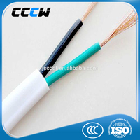 Copper conductor PVC insulation fire proof electric copper wire