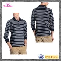 Plaid Long Sleeve Polo Shirt Men Long Sleeves Collar T-Shirt