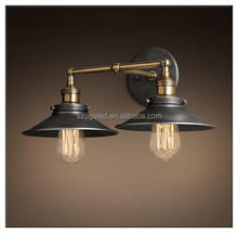 2015 Light Vintage Double Wall Lamps