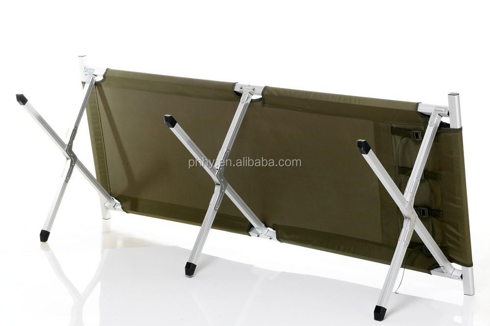 en aluminium lit pliant lit de plage camping lit plage. Black Bedroom Furniture Sets. Home Design Ideas