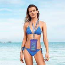 Hot sale pvc waterproof case for phone