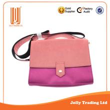China newest wholesale exported trendy leather women handbag