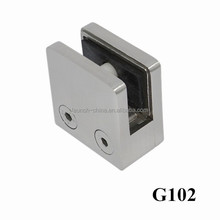 2015 best selling 316 stainless steel glass panel clamps for 8mm glass