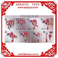 """car transforming robot toy """"Optimus Prime Transforming """" with Weapon Cool Looks 2014 trend christmas gift 2013"""