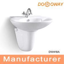kohler de cerámica de lujo de utilidad dw418a fregaderos