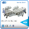 High Quality CE&ISO 13485 Approved Five function Electric Hospital Bed , Hospital Furniture , Medical ICU Bed