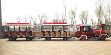 Our company manufacture 20 seats electric train or luxury type train you need