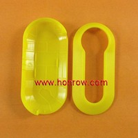 Fiat 3 Button Remote Key Cover (Yellow Color), fiat 500 key cover, fiat key shell