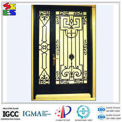 2015 Simple design hot sale fashionable wrought iron wholesale gate for window