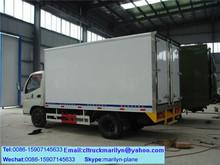 2 ton freezer refrigerated truck air conditioner box truck mini refrigerator car